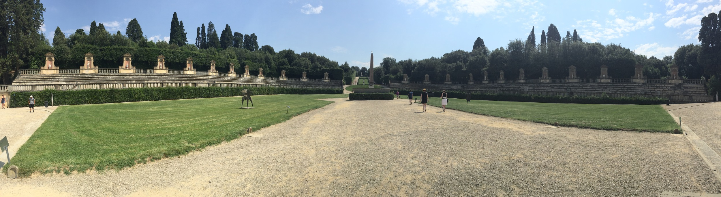 Panoramic picture of the amphitheater
