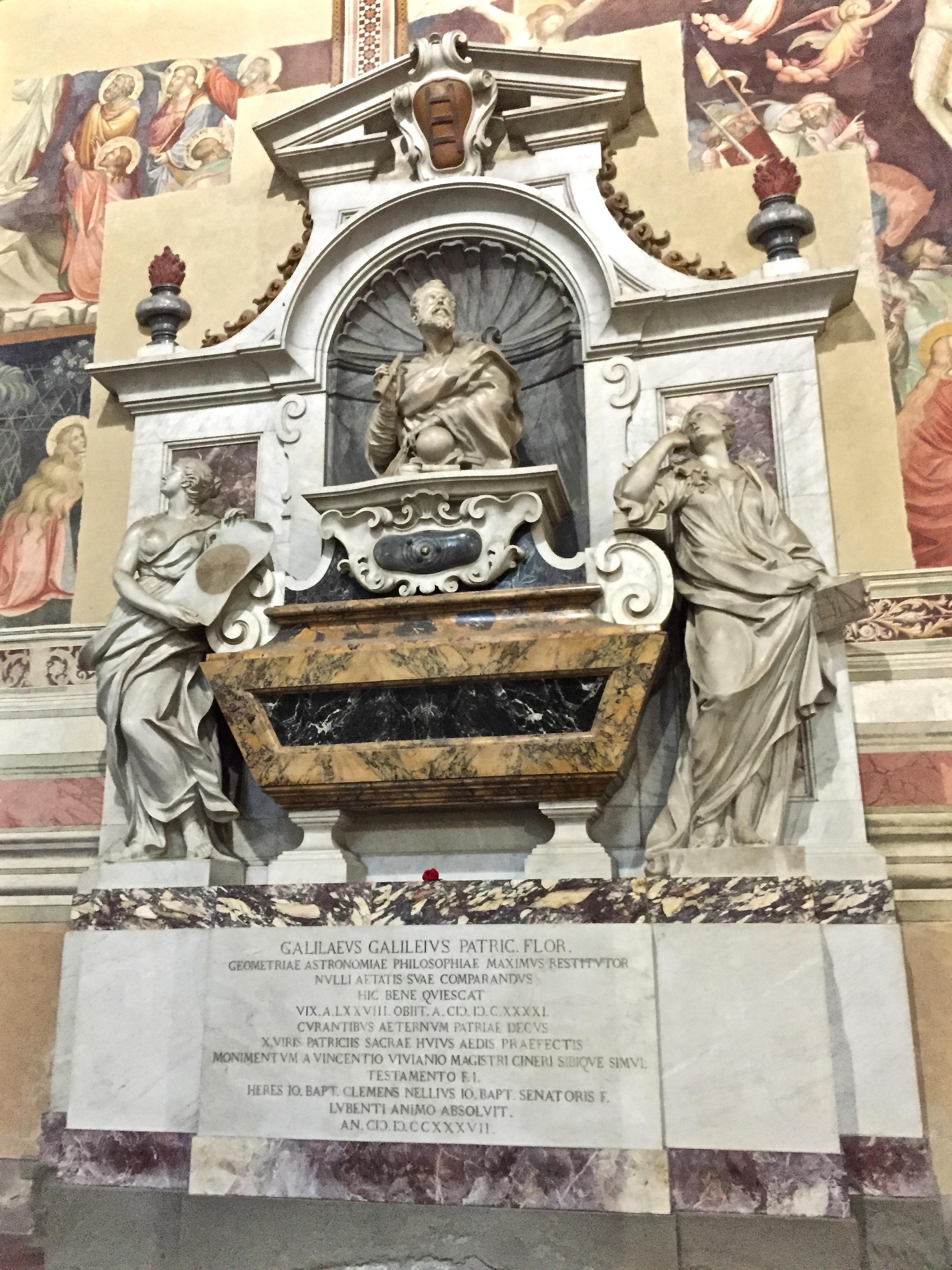 Galileo's grave