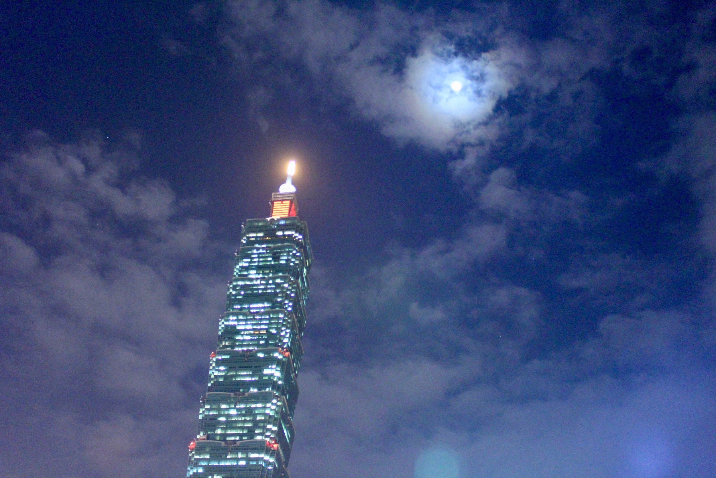 Night View of the Taipei 101