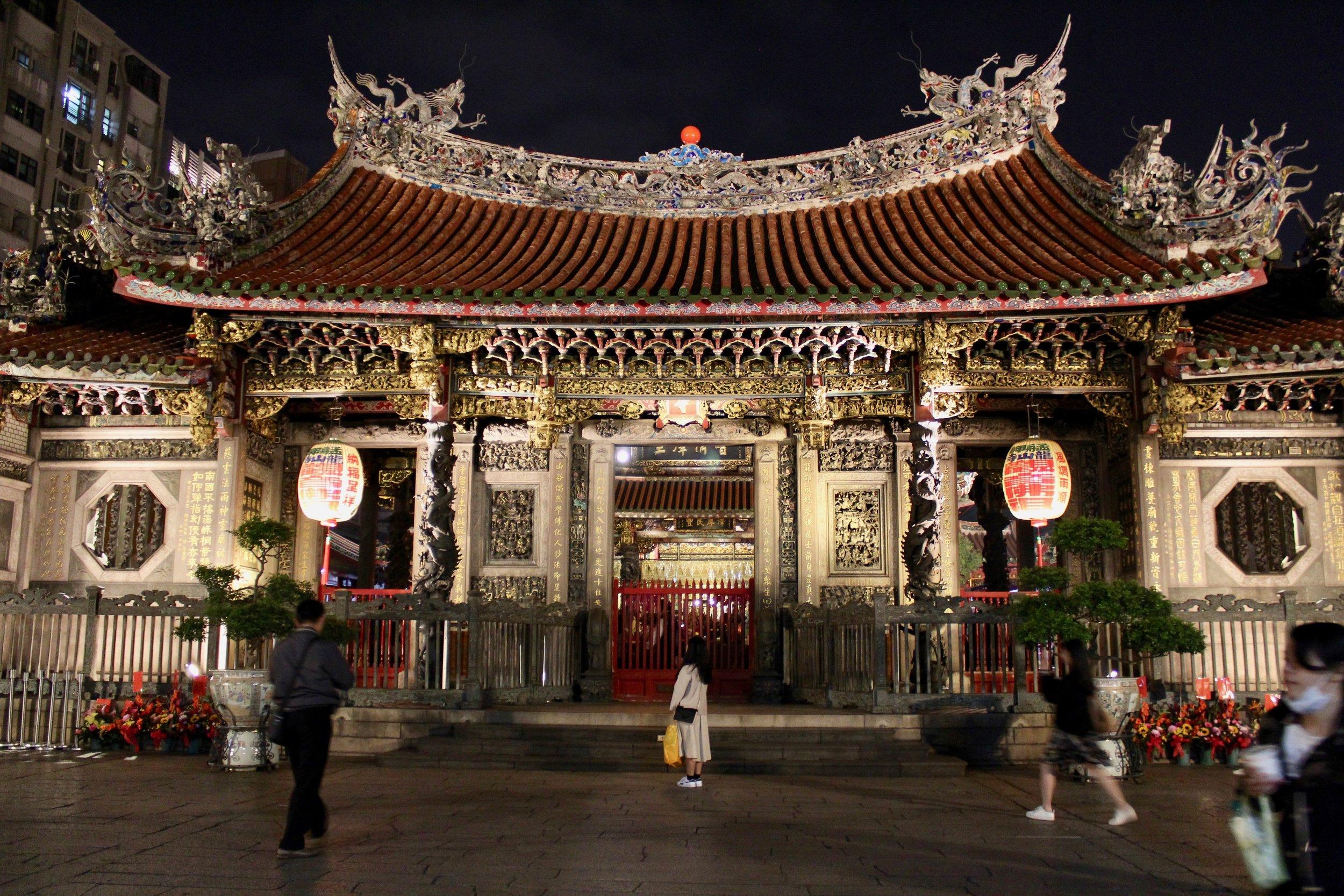 Longshan Temple.