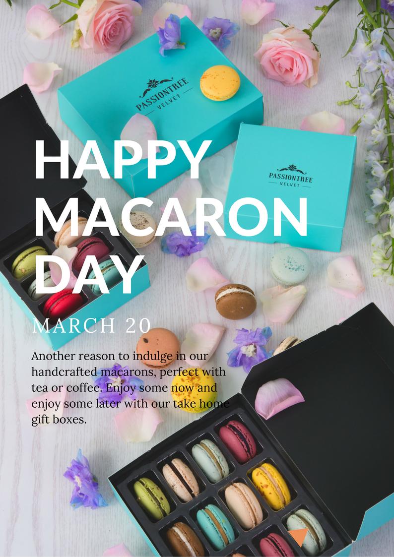 passiontree velvet macaron day