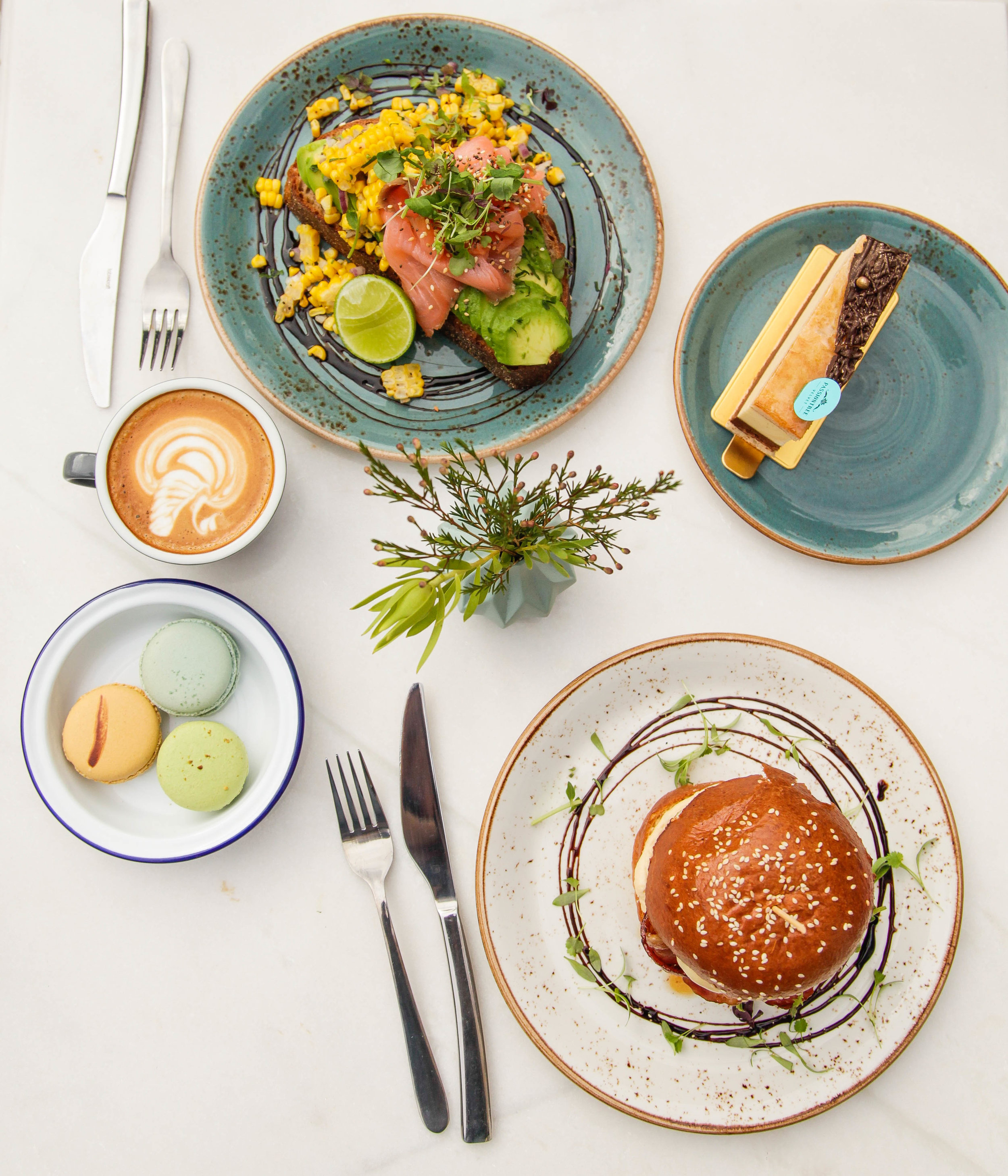 Full cafe / brunch range will be available here.