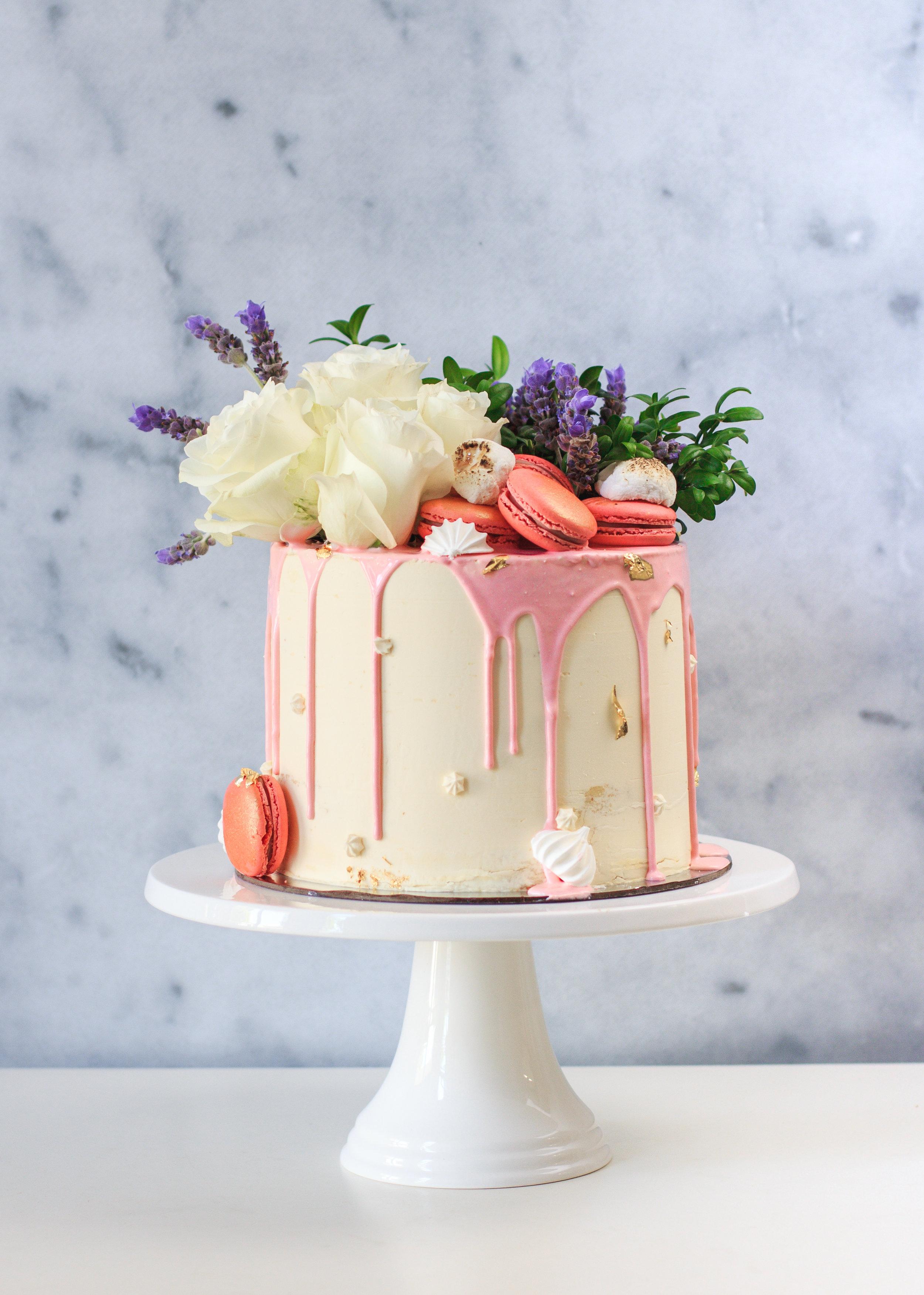 """6"""" Passiontree Velvet Custom Cake"""