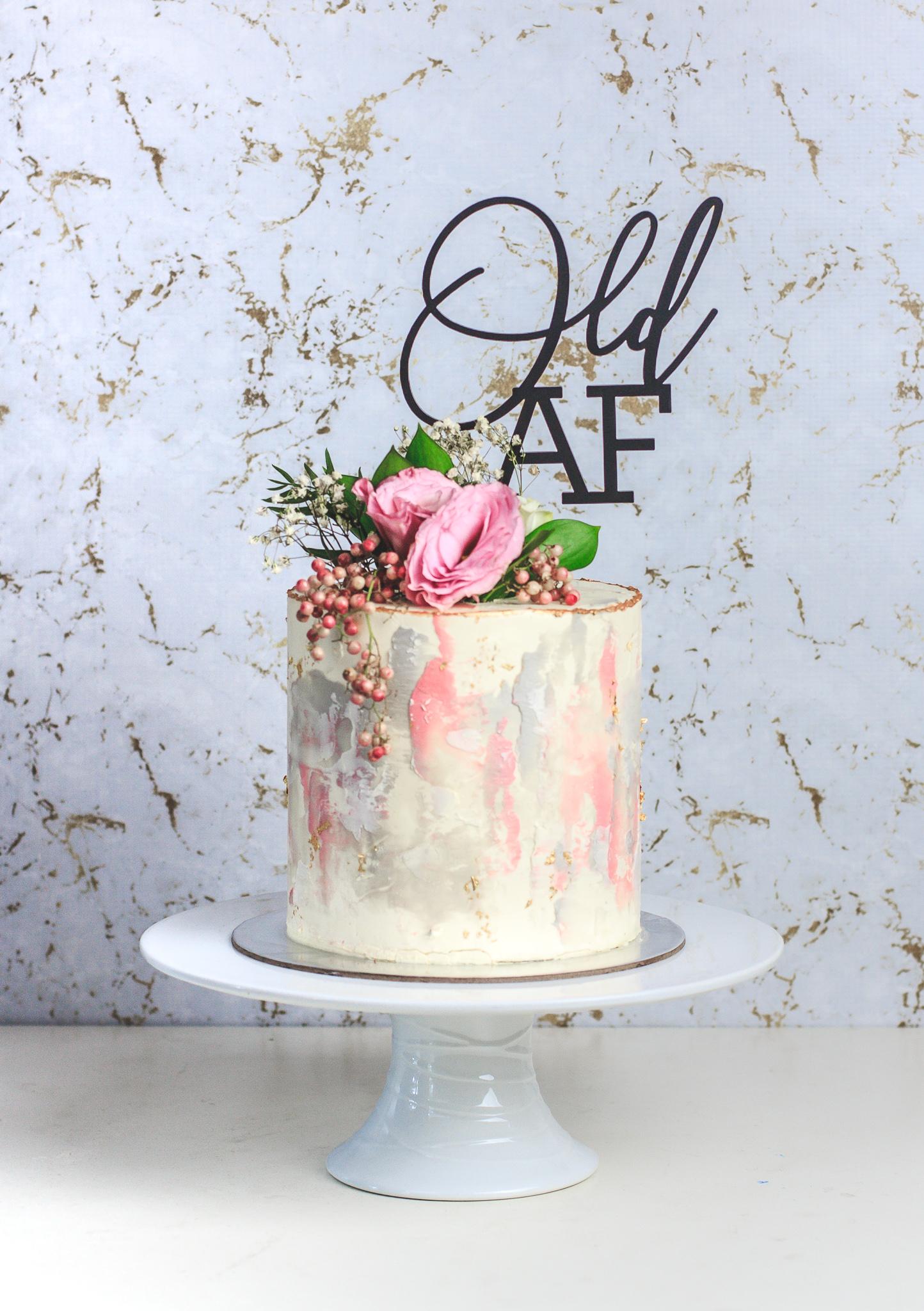 """6"""" Custom Passiontree Velvet Cake"""