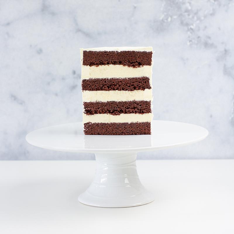 American Sponge Chocolate & Vanilla