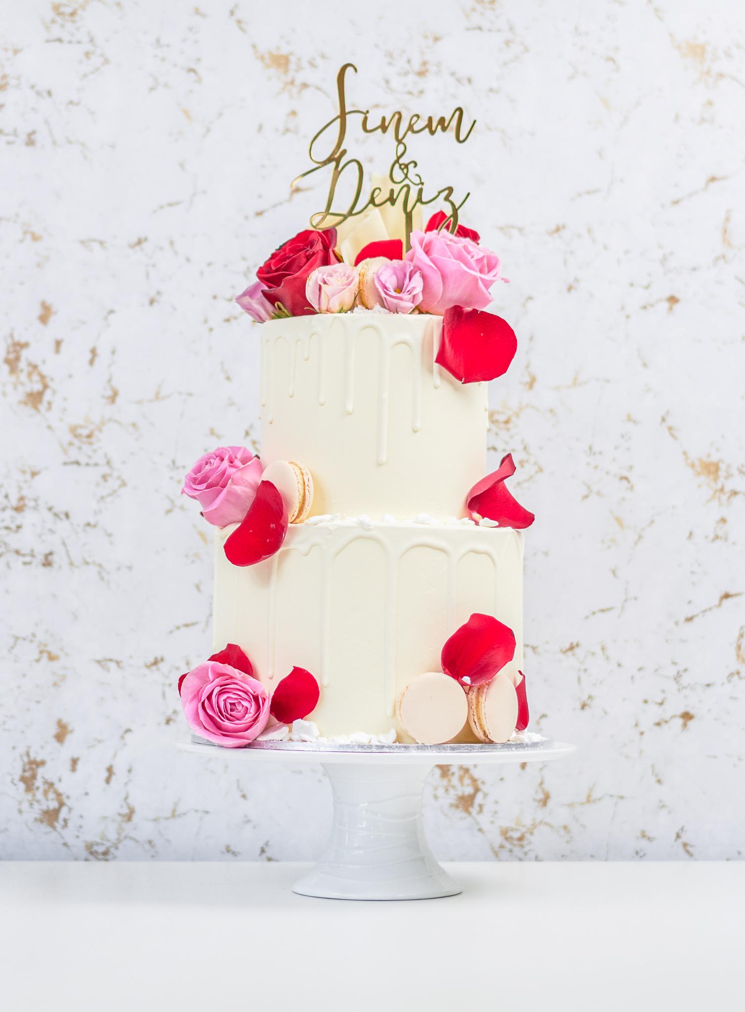 "8"" + 6"" Custom Cake"