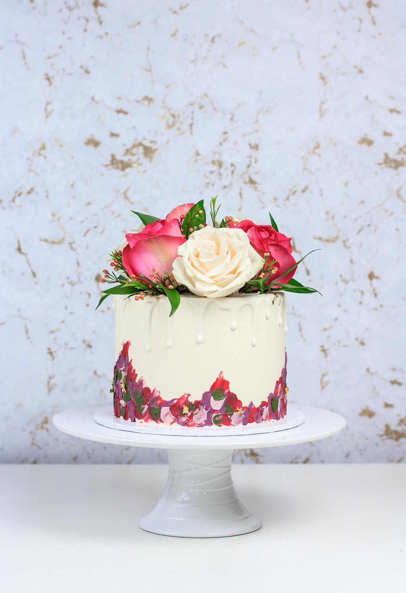 Custom Passiontree Velvet Cake