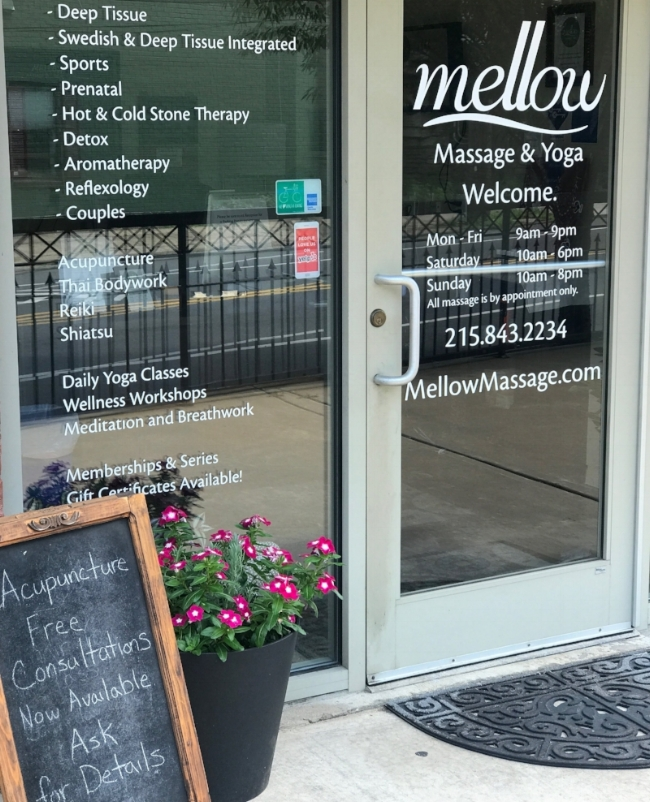 Mellow Massage Philadelphia