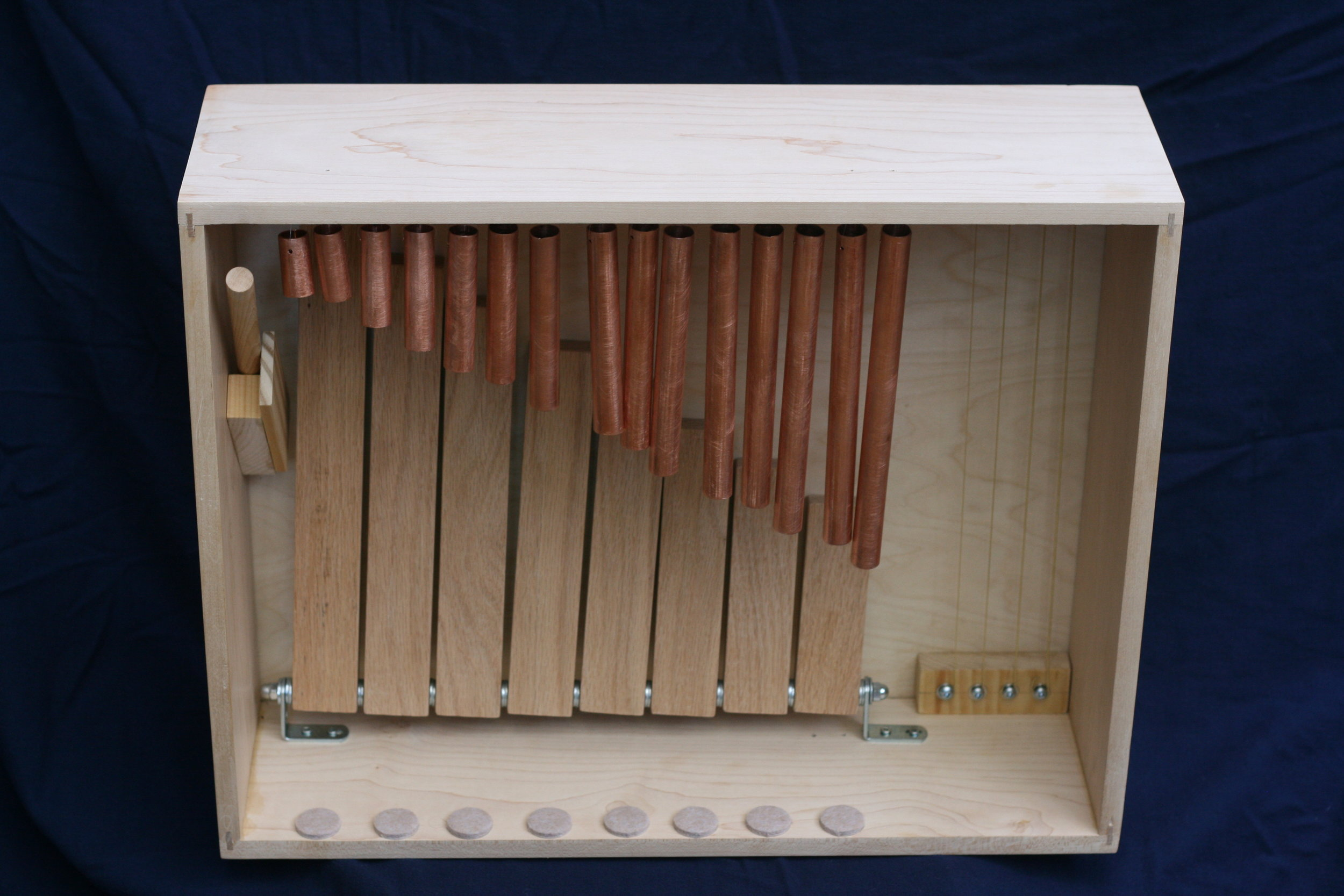 Musical playbox made by Kyle England, Architect.