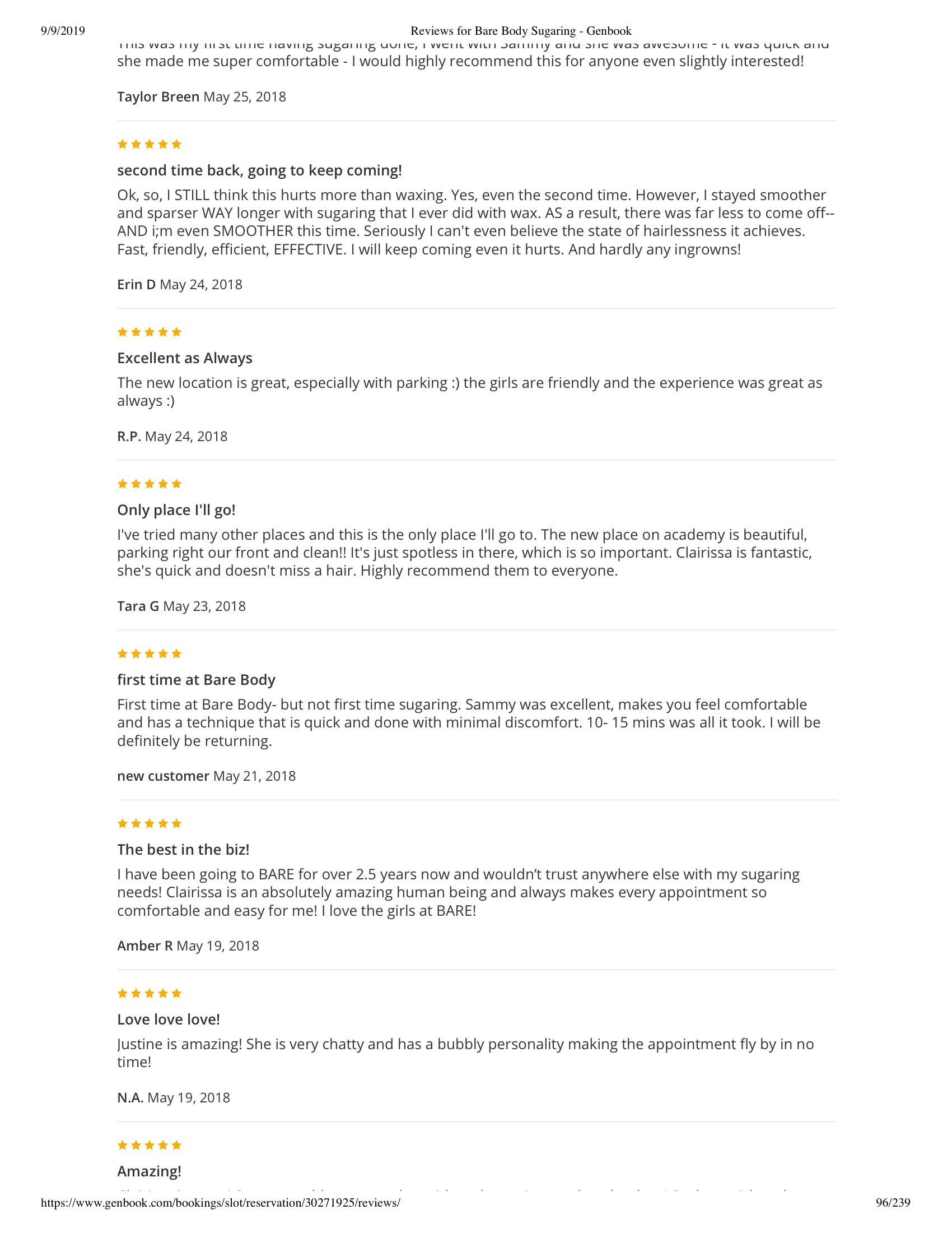Reviews for Bare Body Sugaring - Genbook 96.jpeg
