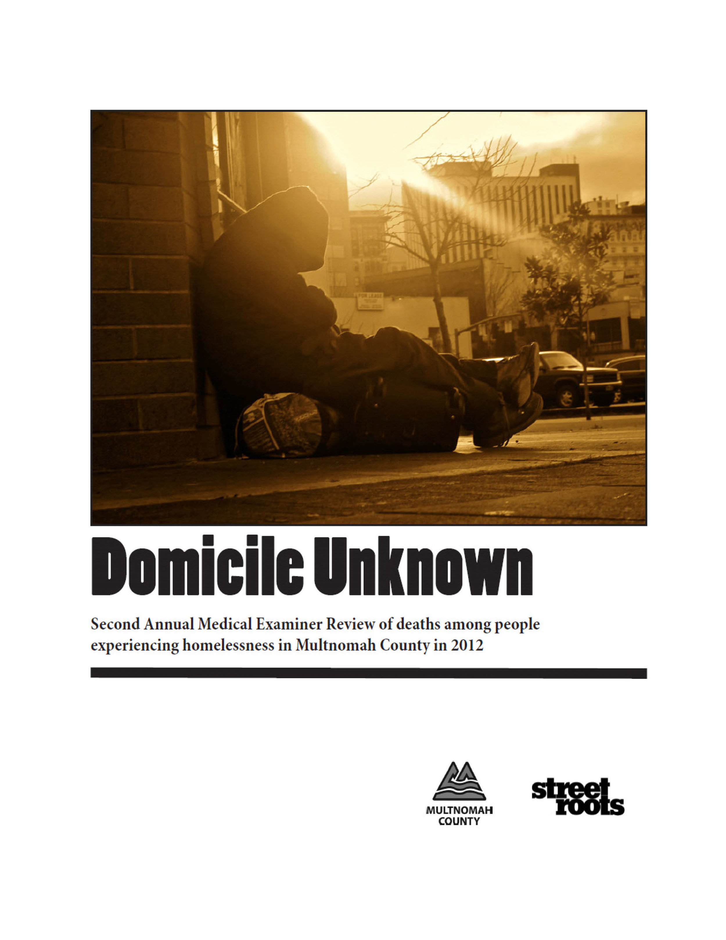 2012 Domicile Unknown Report
