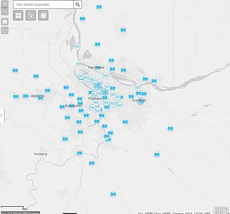 Interactive Map of Cooling Centers