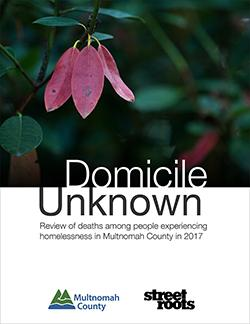 2017 Domicile Unknown Report
