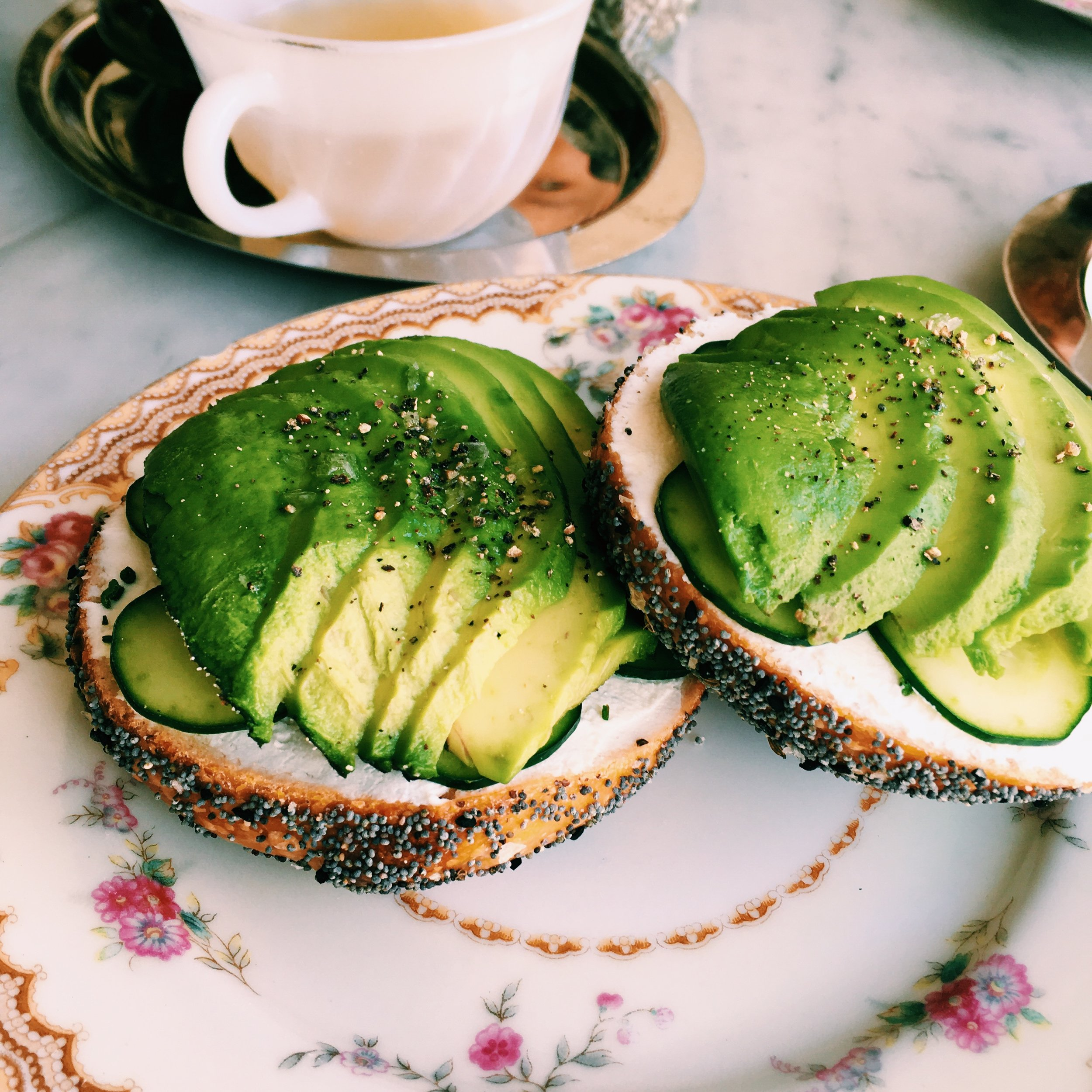 Bagel + Avocado