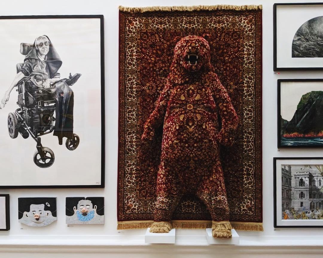 Red Bear by Debbie Lawson