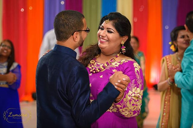 A tender moment shared between the groom and bride to be on Sangeet night. . . . . . #lumierephotographyus #chicagoweddingphotographer #chicago #photography #indianbride #indianwedding #maharaniweddings #theknot #shaadi #desiwedding #chicagophotographer #portrait #weddinginspiration #editorial #bride #makeup #wedding #weddingphotographer #weddingphotography #southasian #southasianwedding #punjabi #punjabibride #punjabiwedding #weddingceremony #sangeet #gujaratiwedding #gujaratibride