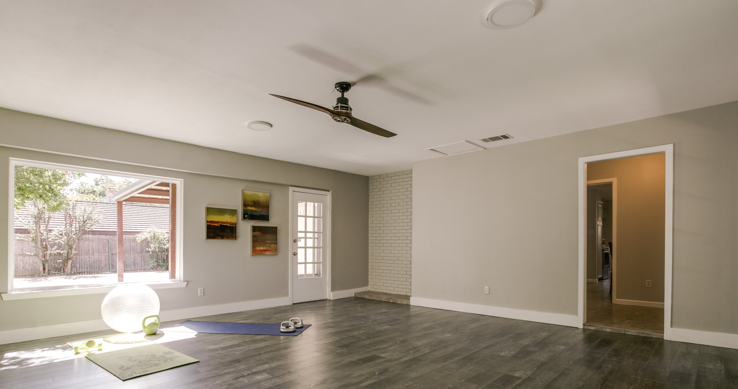 Staged Home Gym   Source: M Style Home Staging/ Shoot2Sell Photography