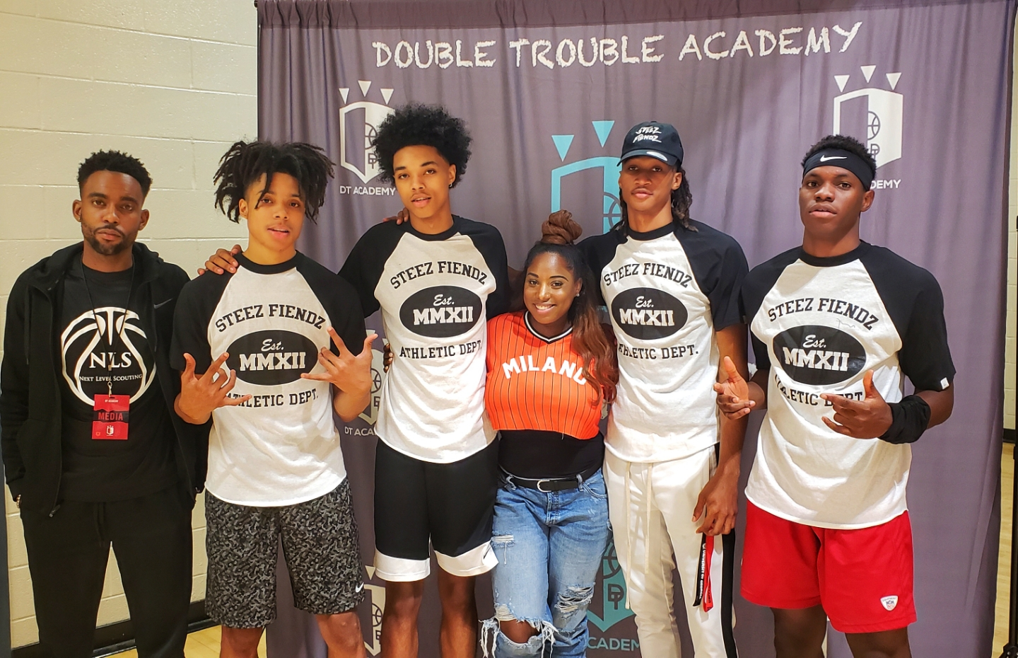 DTAcademy Camp - In Photo: Nextlevelscouting, Caleb Murphy, Brandon Boston, Georgia 'JoJo' Aubrey Toppin, Kiel Godwin