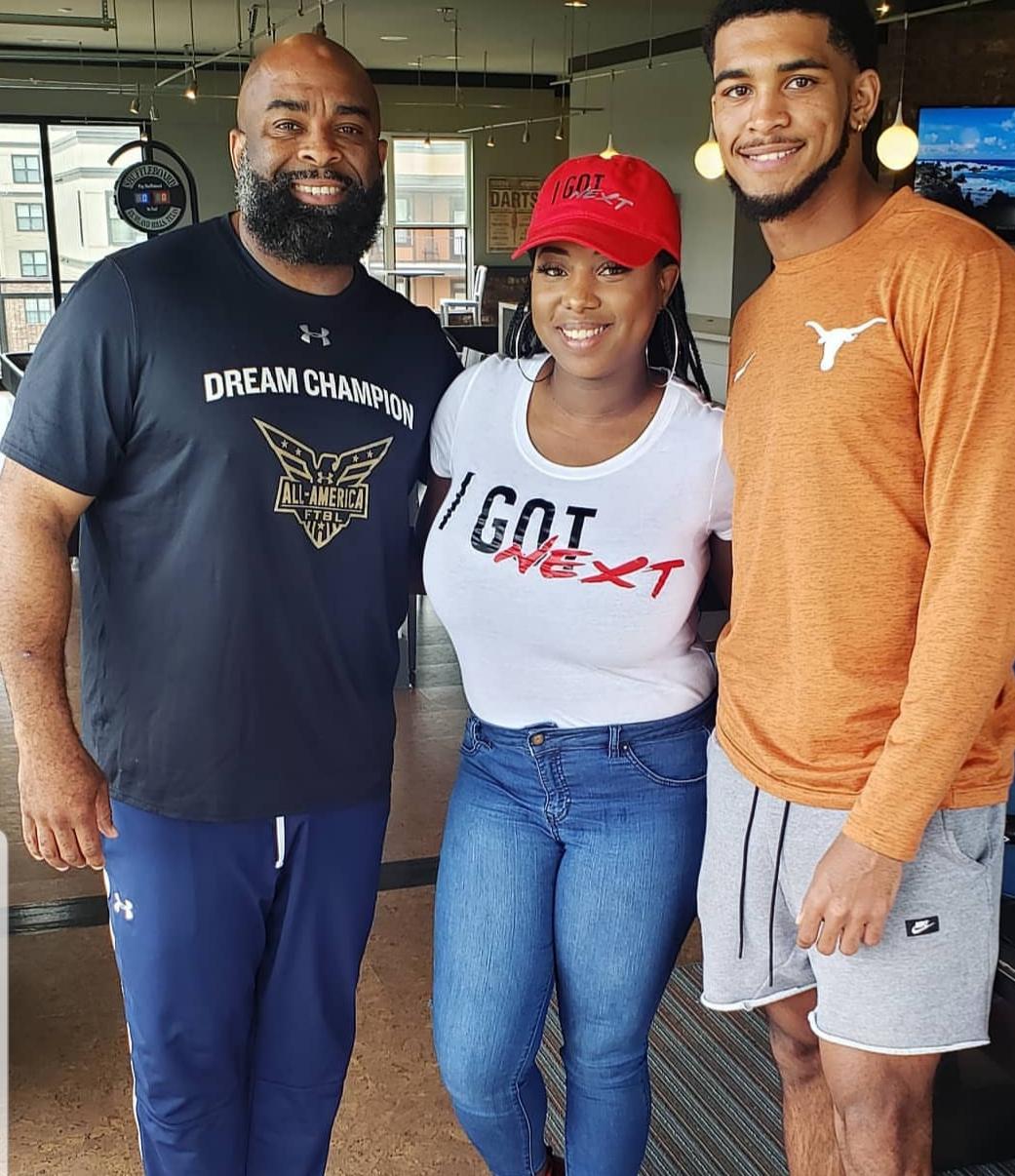 Kenyatta Watson Sr & Jr - Texas Football
