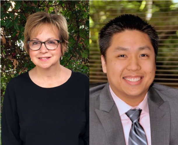 Picture of our Board Members Sandra Korwek (left) and Danny Cung (right). Source .
