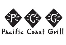 An image of the Pacific Coast Grill logo.