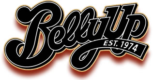 An image of the Belly Up logo, with the added line indicating they were established in 1974!