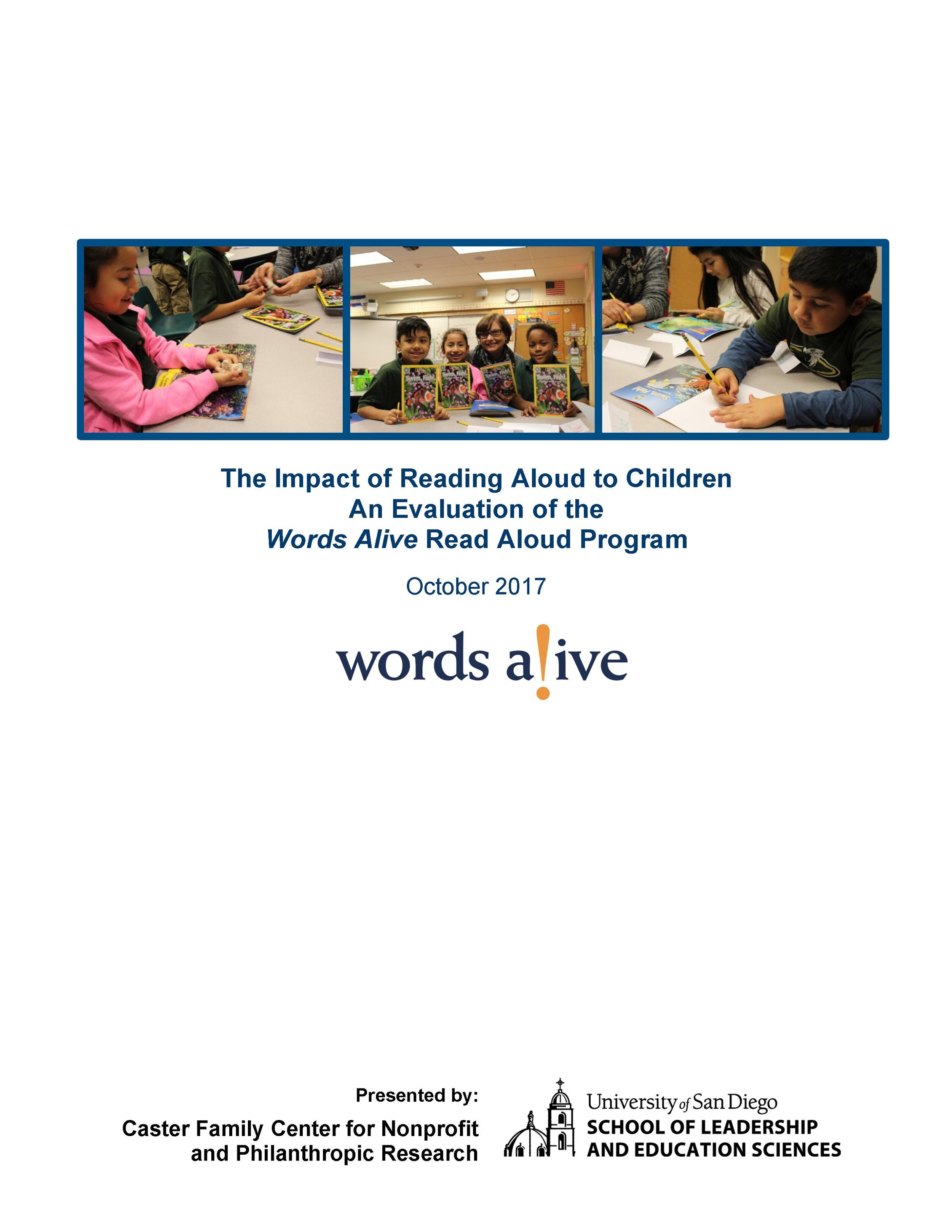 Read Aloud Program Impact Report 2017