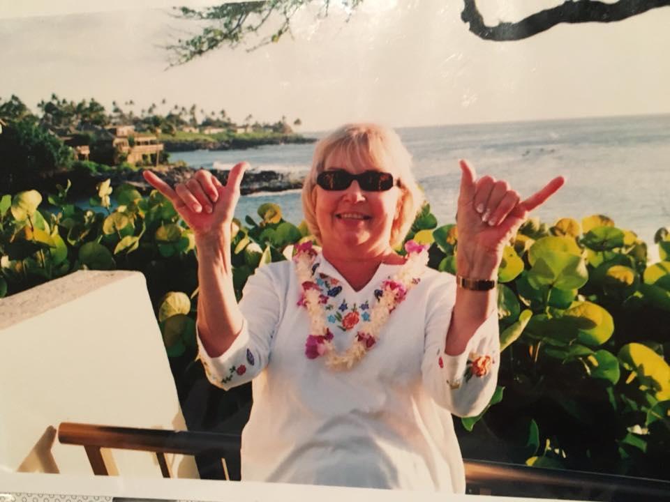 Judi Bassett - At her Happy Place: Maui