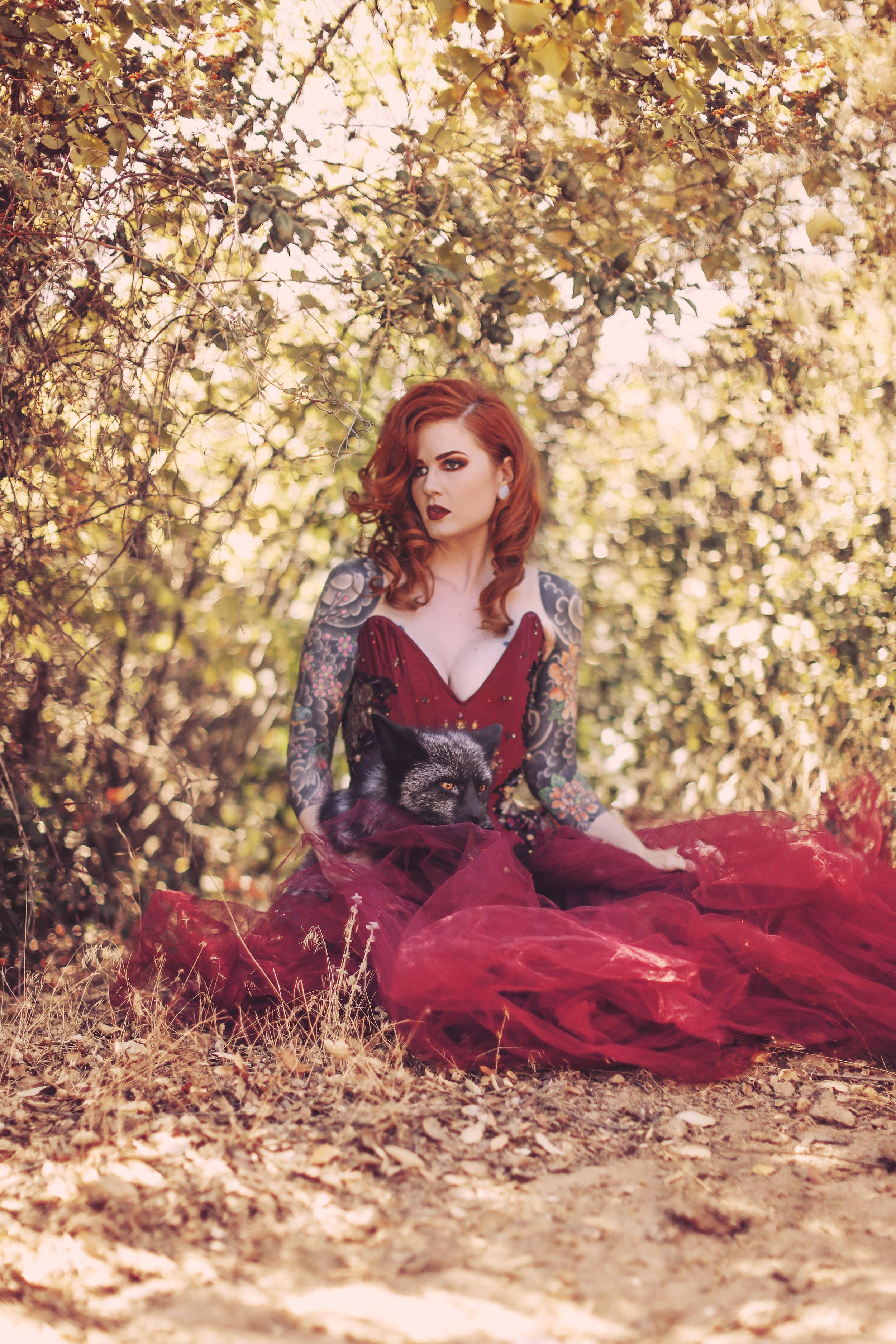 Photo courtesy of Anabel DeFlux; Model: Luna Marie