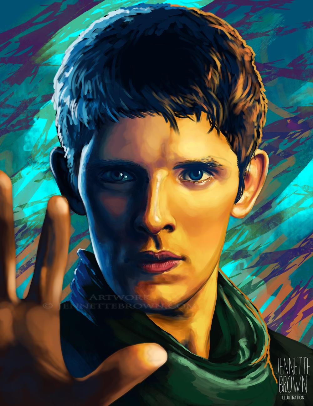 Merlin Casts Magic