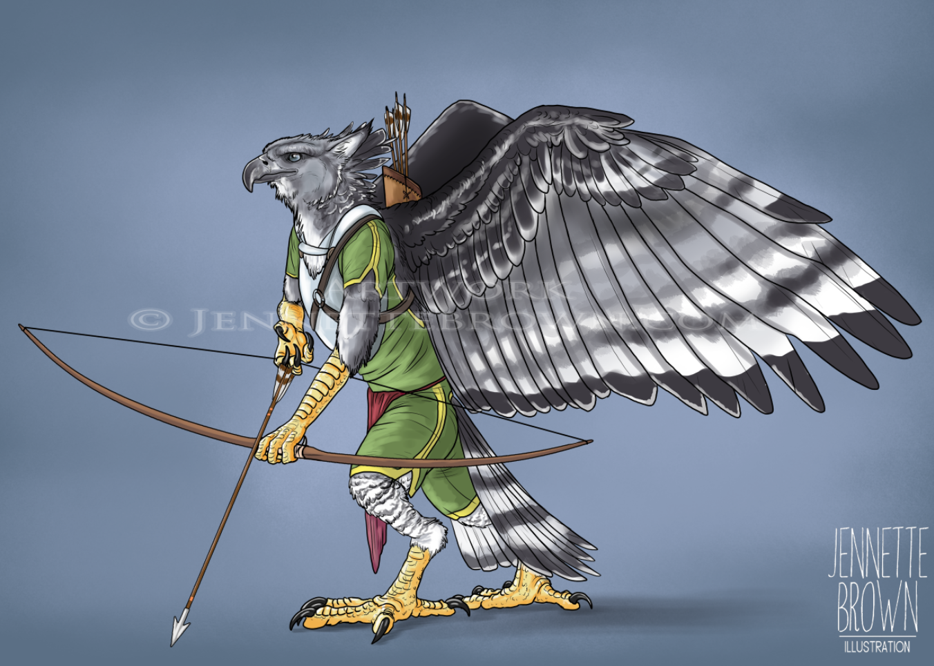 Feathered Archer