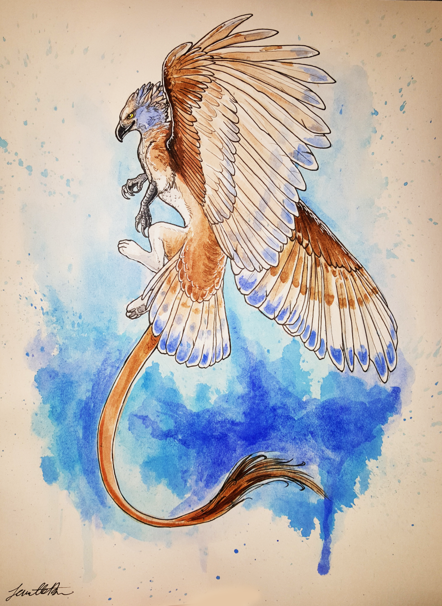 Blue Gryphon