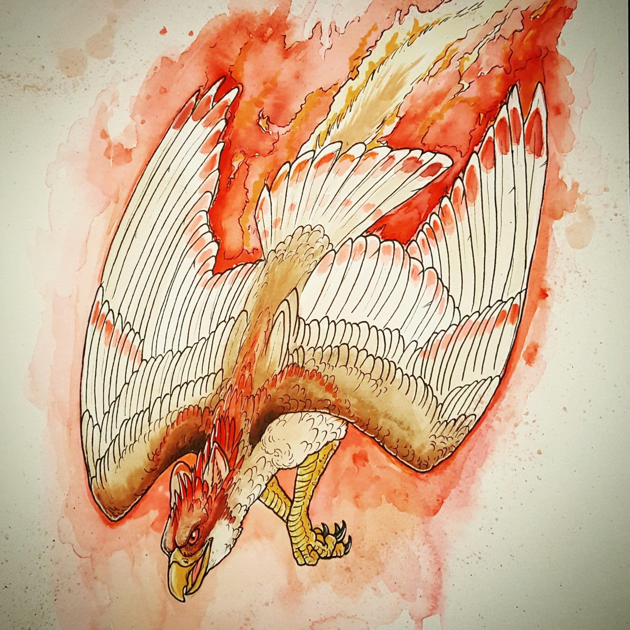 Fire Gryphon