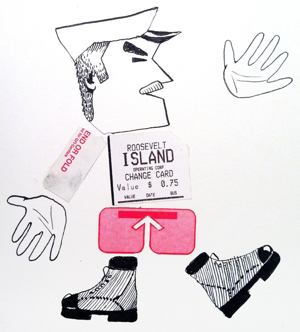 """Roosevelt Island Man"""