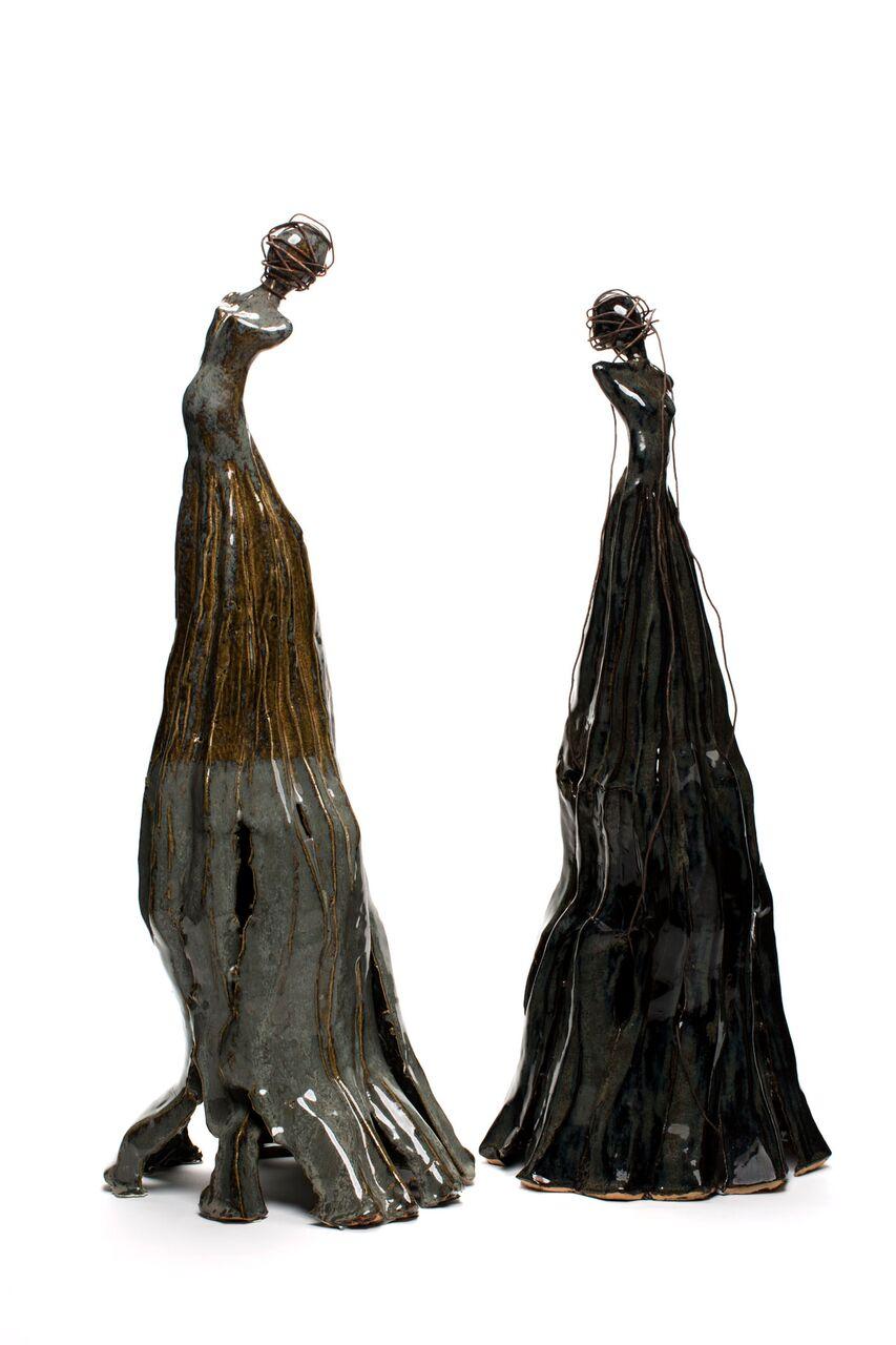 "Mary T. Enslow 20.5"" x 12"" Ceramic, 2017"
