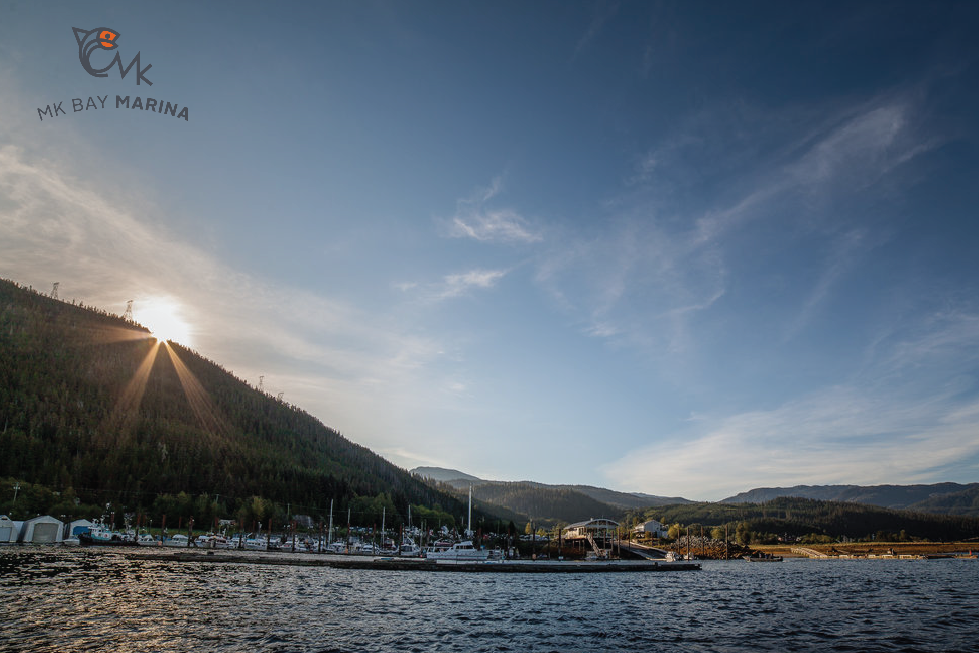 MK Bay Marina   ,  Kitimat, BC. Our full service marina, store and campground are located at the head of the Douglas Channel in the center of year round fishing and relaxation.