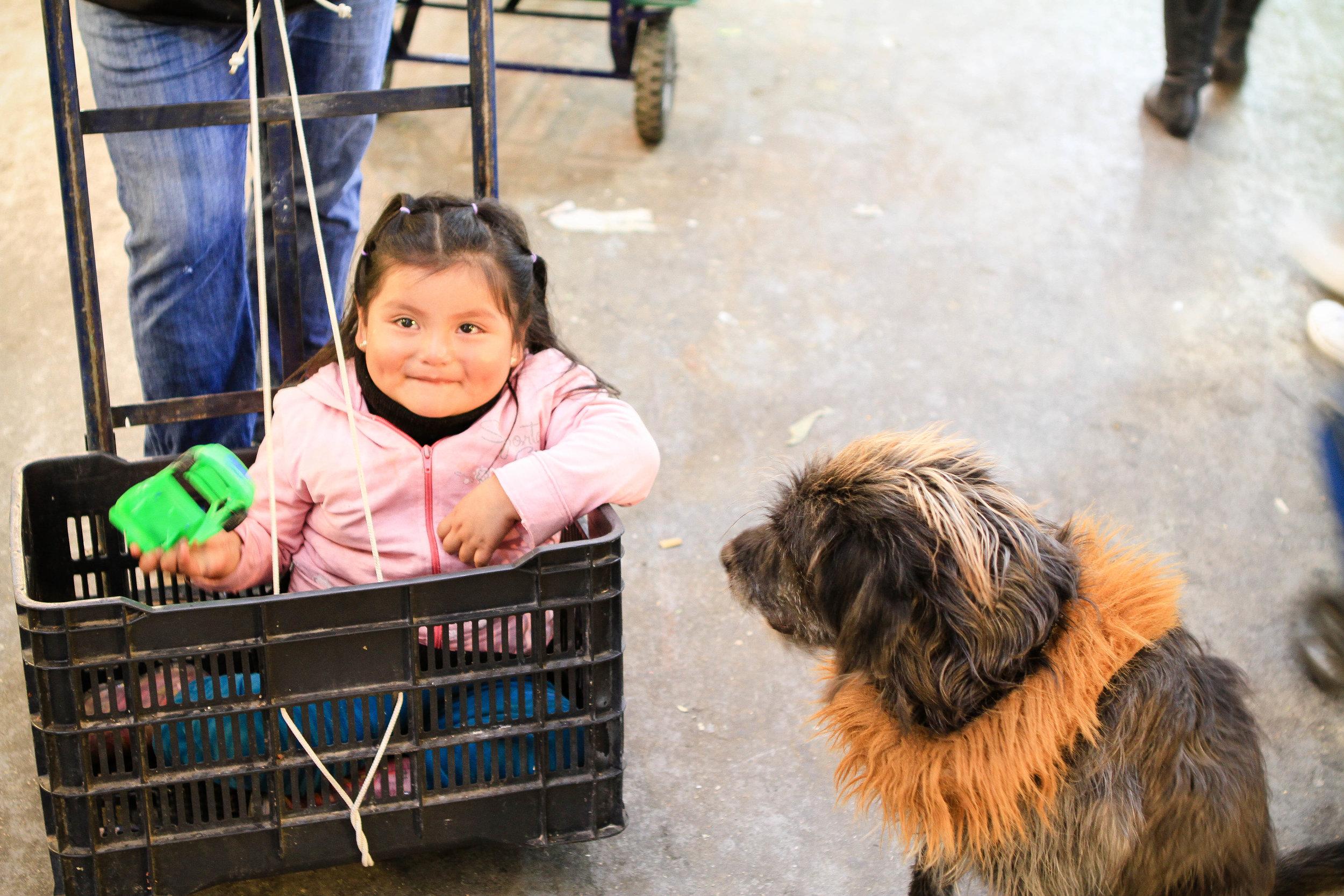 La Merced Market - Mexico City, Mexico