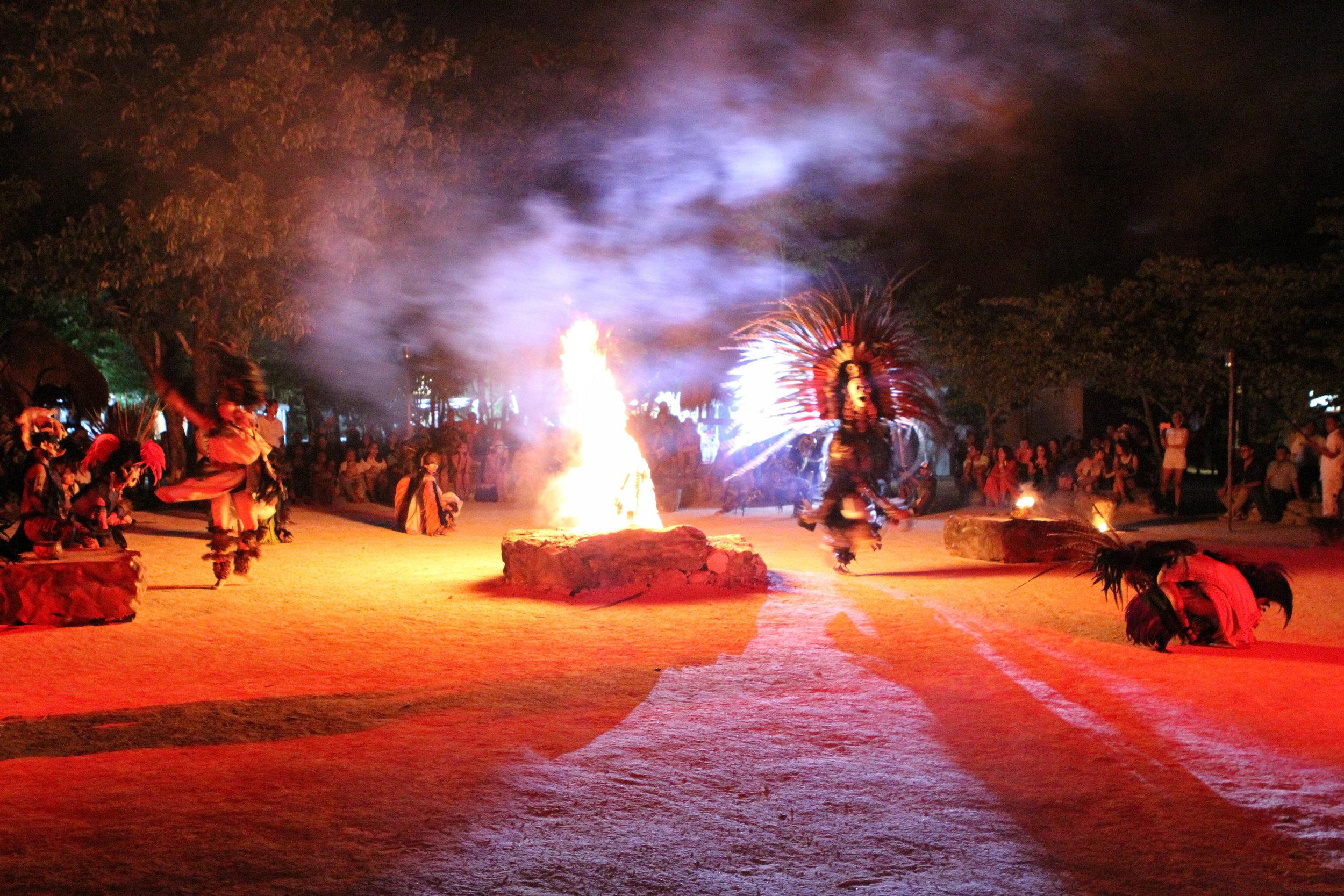 Welcome ceremony for Tulum Vegan Fest - Tulum, Mexico