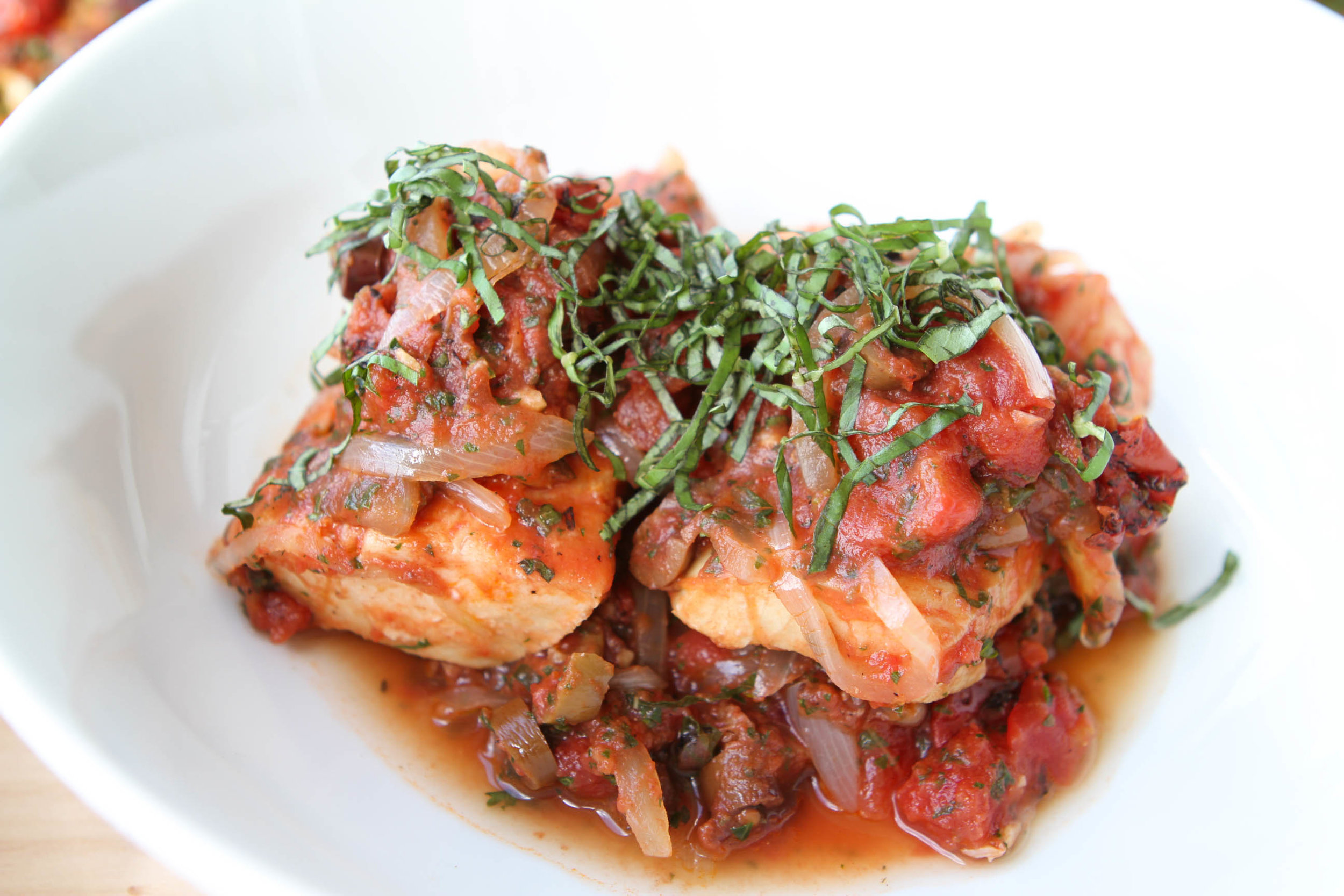 POACHED FISH -