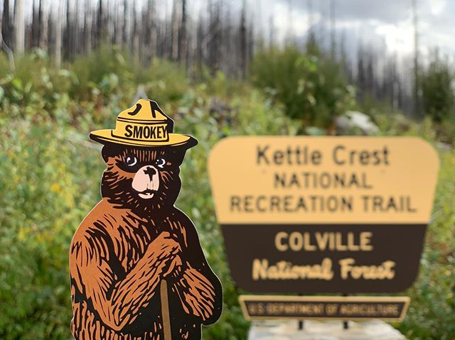 🔜🍂🍁⛰ #kettlecresttrail #colvillenationalforest #ferrycounty #pacificnorthwesttrail #legday #washingtontrails @pacificnorthwesttrail #everytrailconnects #thruhikerlife #wildernessculture