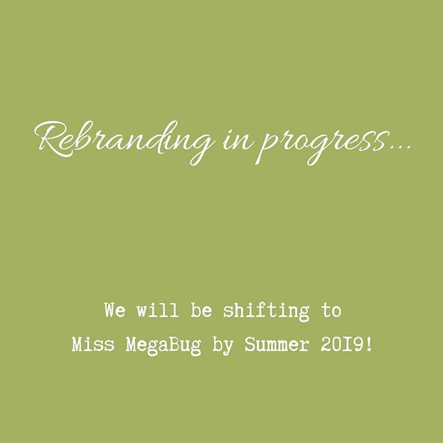 In an effort to simplify while improving our client experience, MegaBug Photography and Nutmeg Media will become Miss MegaBug by Summer 2019! . . . Be sure to follow our next chapter at @missmegabug!
