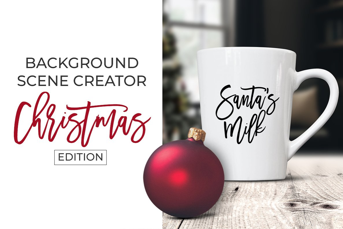Background Scene Creator - Christmas