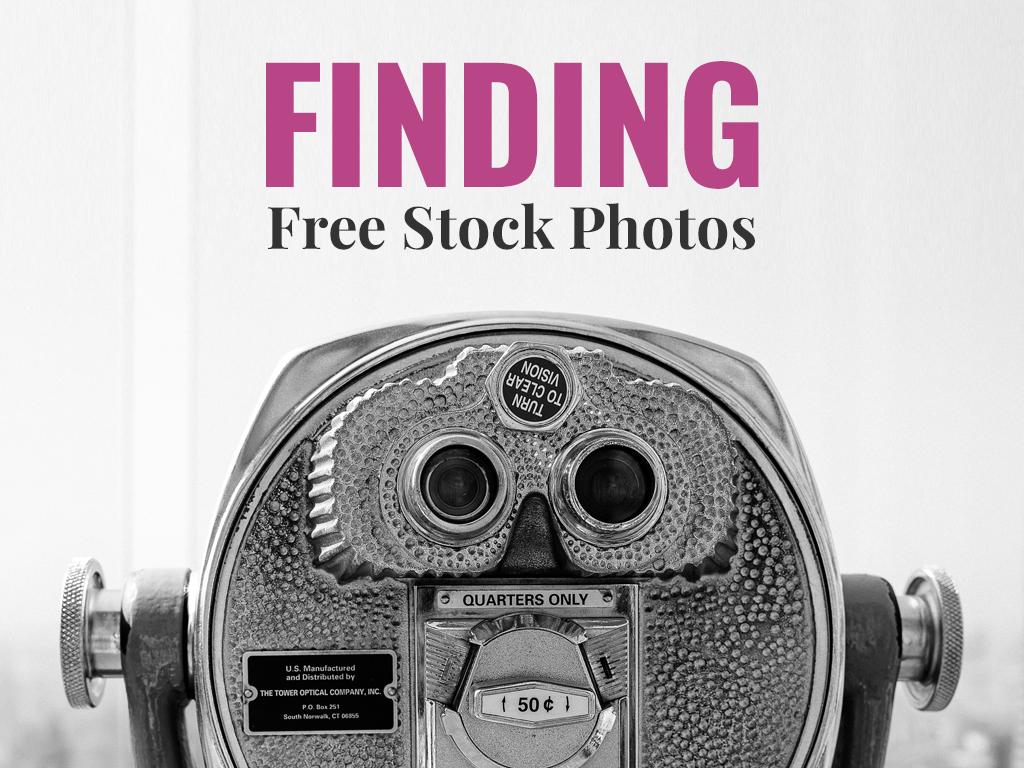 Mockup Social Course: Finding Free Stock Photos - by SarahDesign