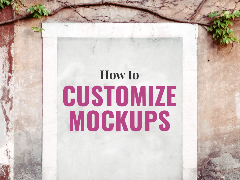 Mockup Social Course: How to Customize Mockups - by SarahDesign