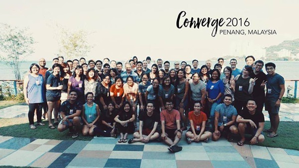 Photo: Converge 2016 participants from over 20 different prayer ministries.