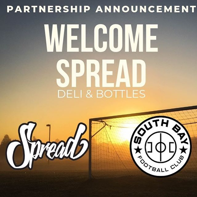 Excited to partner with a youth soccer club in San Jose that is committed to development and the community! Can't wait to spoil their summer campers with boxed lunches! @southbay_fc #spreaddeli #DTSJ