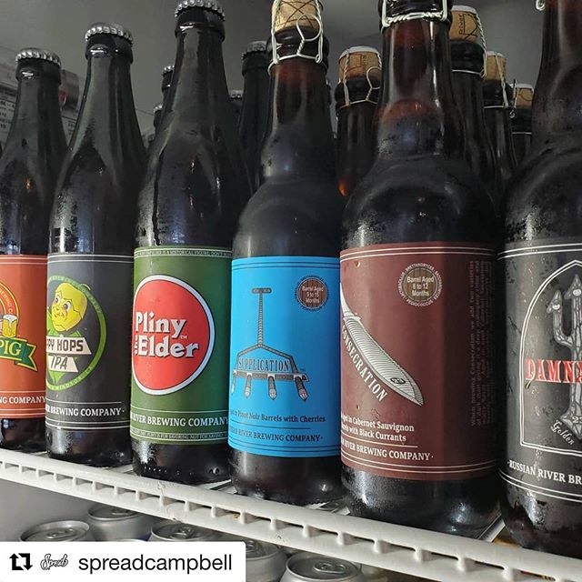 Happy Anniversary to flagship location @spreadcampbell!  Here's to 6 amazing years in Campbell and here's to another 20!  Come in by and celebrate with us, crack open a @russianriverbrewingofficial Damnation, try a @spreadcampbell Breakfast Sandwich, and sip on a @russianriverbrewingofficial Pliny the Elder on the patio. We're excited to be here and to have you. We'll see you soon! #party #anniversary #cheersto6years #spreadtheword #spreadthelove #spreadhappiness #spreadbeer #russianriverbrewing #plinytheelder #blindpig #happyhops #craftbeer #beerhound #beergeek #beer #funinthesun #sandwiches #foodporn #breakfast #breakfastspread