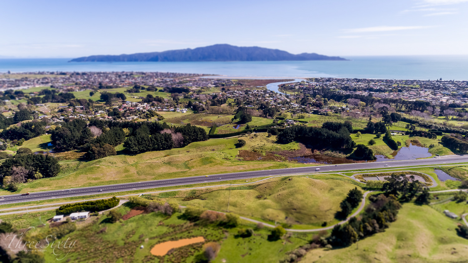 Kāpiti expressway - From the miniature Kāpiti series