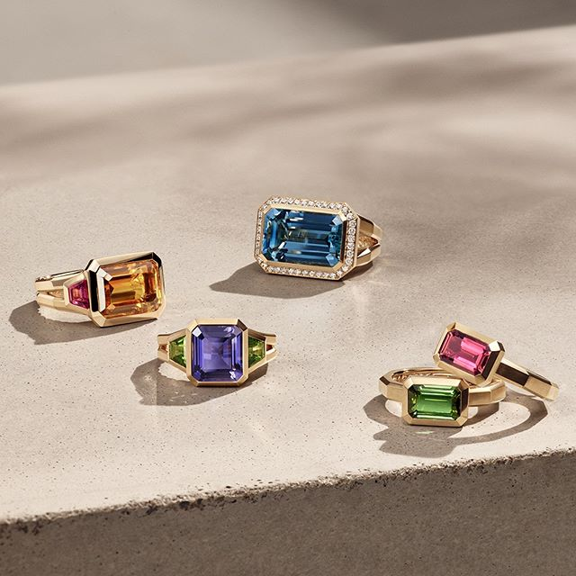 A burst of color for Mother's Day. New Novella rings from David Yurman brilliant reflect how beautiful and vibrant she is with custom-cut gemstones in a sumptuous palette. #davidyurman #diamondcellar #columbusohio