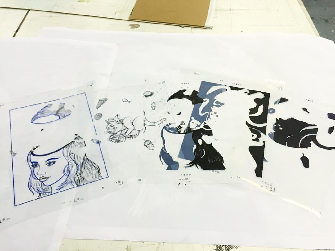 CAST  (in order of appearance) (at Art Hub Studios)